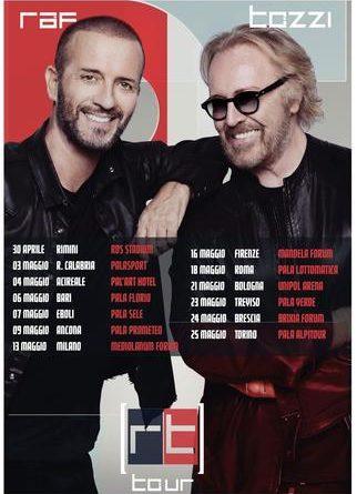 "BIGLIETTI CONCERTI RAF TOZZI  ""RAF TOZZI TOUR 2019"""