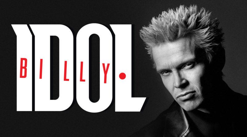 Concerti Billy Idol: unica data italiana a Padova giugno 2018!