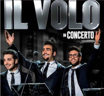 Concerti Il Volo Classica – Tour 2018 – Piero Barone, Ignazio Boschetto e Gianluca Ginoble de Il Volo hanno annunciato 4 nuovi concerti estivi!