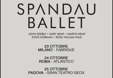Musica Anni Ottanta – Gli Spandau Ballet, la band esplosa negli anni '80, torna con una nuova formazione in Italia per tre date!