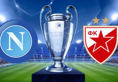 BIGLIETTI NAPOLI VS STELLA ROSSA UEFA CHAMPIONS LEAGUE 2018-19