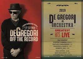 Biglietti Francesco de Gregori Off The Record Tour 2019