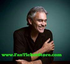 Biglietti Andrea Bocelli in concerto a Napoli ,Lajatico e Taormina