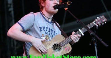 Biglietti Ed Sheeran European Tour 2019