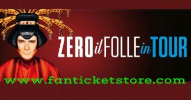 Biglietti Renato Zero tour 2019/2020