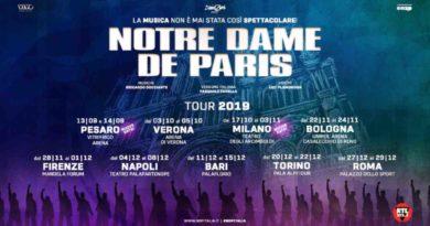 Biglietti Notre Dame De Paris Tour 2019