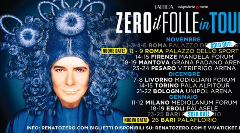 Biglietti Renato Zero in Tour nel 2019-2020
