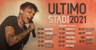 Biglietti Ultimo Tour Stadi 2021