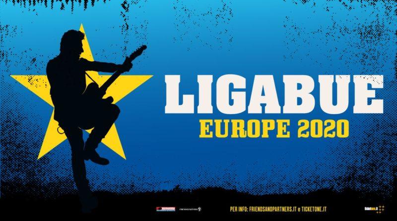 Biglietti Ligabue Tour Europe 2021