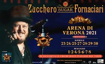 Biglietti Zucchero Arena Verona 2021