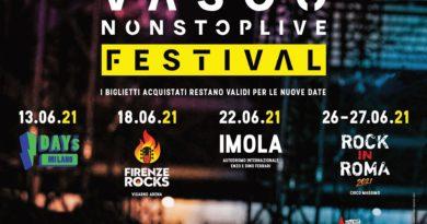 Biglietti Vasco Rossi Vasconostoplive Festival 2021