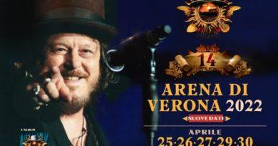 Biglietti Zucchero Arena Verona 2022